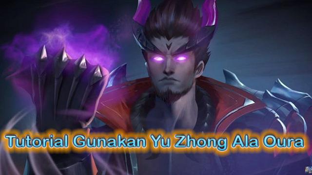 Tutorial Gunakan Yu Zhong Ala Oura